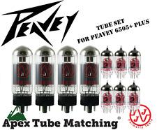 Tube Set - for Peavey 6505+ PLUS  JJ Electronics/Tesla vacuum valve tubes