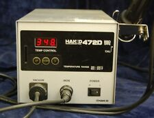 Hakko 472D Soldering Station (with iron, stand, and power cord)