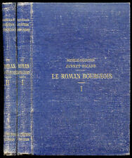 Antoine Furetière : LE ROMAN BOURGEOIS -Collection Jannet-Picard, 2 volumes 1878