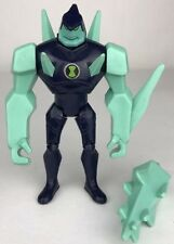 "2011 Ben 10 Alien Force ~ ULTIMATE DIAMONDHEAD + MACE ~ 4"" Action Figure (B61)"