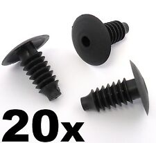20x Ford Interior Door, Boot and Carpet Trim Fastener Clips- Focus 98-05, Mondeo