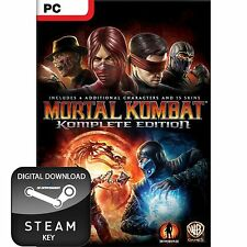 MORTAL KOMBAT KOMPLETE COMPLETE EDITION PC STEAM KEY