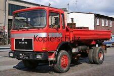 Truck Photo - Lkw Foto MAN F8 Kipper - Tipper Truck   /129