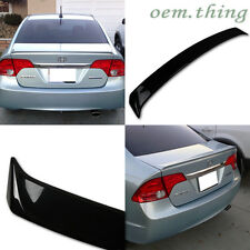 Painted Honda Civic 8th 4DR New Factory Style Rear Trunk Spoiler 06-11