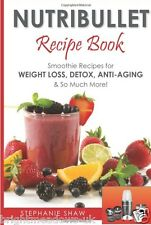 Nutribullet Recipe Smoothie Diet Cook Book Healthy Eating Weight Loss Nutrition