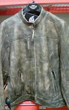 Harley-Davidson Men's Miramar Distressed Brown Leather Jacket 97128-16VT 2XLTALL