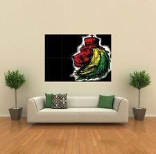 RASTA LION NEW GIANT POSTER WALL ART PRINT PICTURE G568