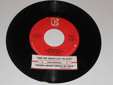 """RED STEAGALL Goodtime Charlie's Got The Blues 45 Songs About People in Love 7"""""""