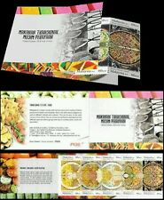 Traditional Festive Food Malaysia 2010 Malay Chinese India (booklet) MNH