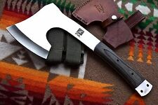 CFK iPak USA Custom Handmade D2 WOODSMAN Ax Axe Survival Camping Hatchet Knife
