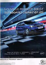 Publicité advertising 2015 Nouvelle Peugeot 308 GT