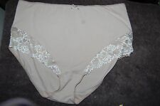 Fawn Cotton Rich Full Briefs  Marks and Spencer  UK Size 24 BNWT