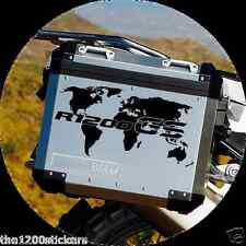 "BMW GS ""WORLD"" MONDO STICKERS ADESIVI DECALCOMANIE  ADHESIVE - THE1200STICKERS"