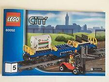 LEGO 60052 City Train - OCTAN Fuel Tank Flat Car w/ Forklift NEW Out of Box