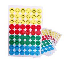 540Pcs Bambini Insegnante Smiley Faccia Ricompensa Scuola Merito Stickers Nuovo