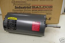 BALDOR 1-1/2HP AC MOTOR THERMALLY PROTECTED # 35S985T369G1  208-230/460V 1140RPM