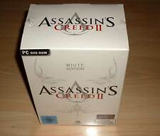 PC DVD-Rom Game Spiel - Assassin's Creed II 2 - White Edition - Neu OVP