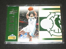 ARRON AFFLALO NUGGETS CERTIFIED AUTHENTIC PACK PULLED GAME WORN JERSEY CARD /799