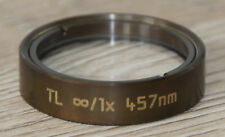 Leica MICROSCOPIO Microscope Tubus lente TL ∞/1x 457nm (N. 100573)