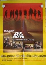 THE WILD BUNCH - Filmplakat Poster SAM PECKINPAH William Holden, Ernest Borgnine