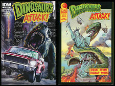 Dinosaurs Attack 1 Variant Comic Lot IDW Eclipse GN Jurassic Park Lost World art
