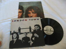 The Beatles London Town Record LP UK Import 50s- 60s Rock NM W/ Inner & Poster