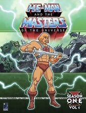 He-Man and the Masters of the Universe - Season One, Vol. 1 DVDs-Good Condition