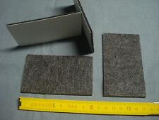 3 patins plaquettes adhésives feutre 60 mm par 40 mm, siège, meuble,