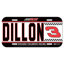 2014 AUSTIN DILLON #3 DOW RACING NASCAR LICENSE PLATE RICHARD CHILDRESS RACING