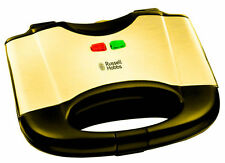 LUXURY 24K GOLD PLATED Russel Hobbs SANDWICH MAKER - 17936