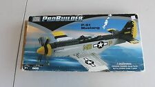 2001 Mega Bloks Probuilder P-51 Mustang Fighter #9772 Parts in Sealed Bags!