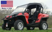 Vinyl Windshield and Roof for Can Am Commander - Canopy - Top - Commercial Grade