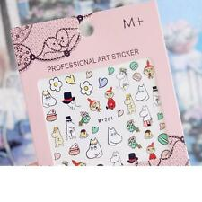 Moomin Valley Characters Paper Nail Sticker 1 Piece style A