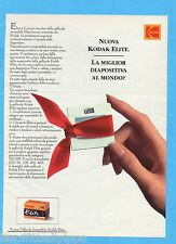 QUATTROR993-PUBBLICITA'/ADVERTISING-1993- KODAK ELITE