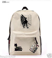 Hot!  Anime Attack On Titan Wings of Liberty High school bag backpack Gift