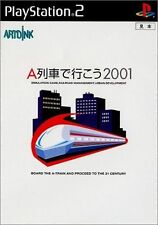 Used PS2  Take the A Train 2001  SONY PLAYSTATION JAPAN IMPORT