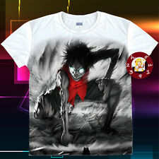 Anime One Piece Luffy Unisex T-shirt Casual Tee Tops S-XXL#T-1-K40