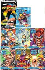 Mission: Fatal Attractions Sub-set 7 x Marvel Overpower Trading Cards Game X-men