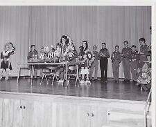 #MISC-0951 -  VINTAGE WISCONSIN BOY SCOUT 8x10 PHOTO #26 - INDIAN COSTUMES