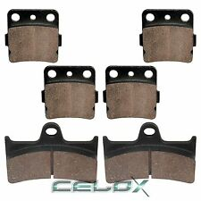 Front Rear Brake Pads For Yamaha Grizzly 660 YFM66F 2005 2006