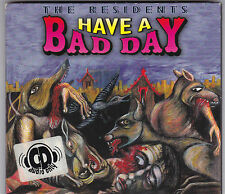 THE RESIDENTS - HAVE A BAD DAY CD ALBUM DIGIPACK 1996 EURORALPH / CD NEAR MINT!