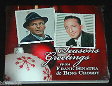 Seasons Greetings from FRANK SINATRA & BING CROSBY 2007 CD Digipak NEW SEALED
