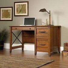 Vintage Computer Desk Drawer Wood Workstation Laptop Table Home Office Furniture