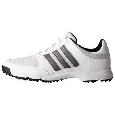 adidas Mens Tech Response Golf Shoes F33552 7 Wide White/Silver