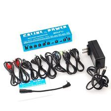 9CH Isolated Output Caline P1 Power Supply For 9 12 15 18V Guitar effects Pedal