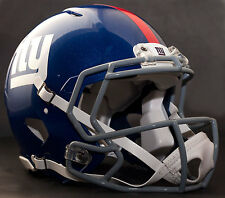 ***CUSTOM*** NEW YORK GIANTS NFL Riddell Speed AUTHENTIC Football Helmet