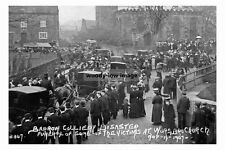 pt4137 - Barrow Colliery Disaster Funeral 1907 , Yorkshire - photo 6x4
