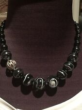 art to wear Antica Murrina Murano glass,Stainless steel necklace & earrings set