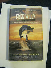 Free Willy (VHS, 1993, Camshell)  (GS18-7)