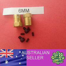 2 of 6mm to Hex Wheel Coupler for 12mm hex drive wheel from motor